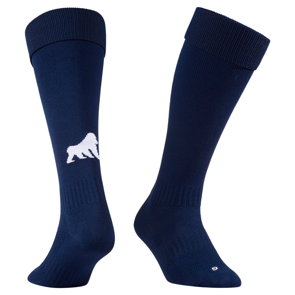 Playing Socks Navy / White