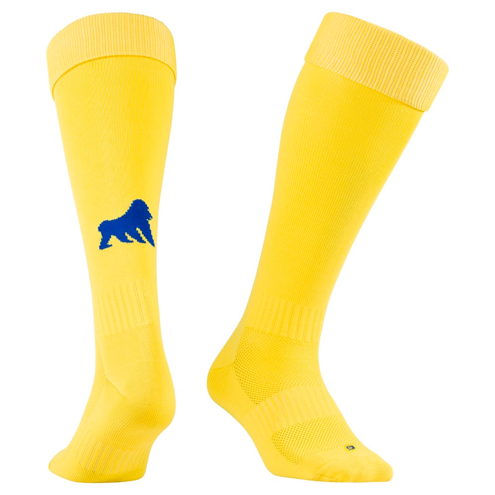 Playing Socks Yellow / Royal