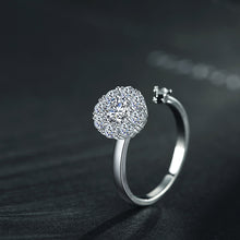 Load image into Gallery viewer, Fashion Rotatable Cubic Zirconia Adjustable Women Ring