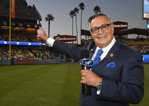JAIME JARRIN DODGERS SPANISH BROADCASTER PRIVATE SIGNING