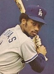 DERREL THOMAS 1981 WORLD SERIES CHAMPION PRIVATE SIGNING