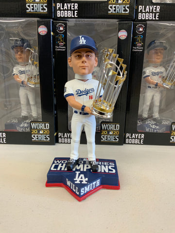 WILL SMITH 2020 WORLD SERIES CHAMPIONSHIP DODGERS FOREVER COLLECTIBLE 8 INCH  BOBBLEHEAD NEW