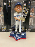 MAX MUNCY 2020 WORLD SERIES CHAMPIONSHIP DODGERS FOREVER COLLECTIBLE 8 INCH  BOBBLEHEAD NEW