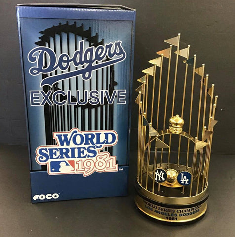 1981 WORD SERIES REPLICA LIMITED EDITION TROPHY