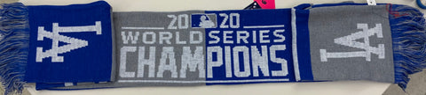 LOS ANGELES DODGERS 2020 WORLD SERIES CHAMPIONS ACRYLIC SCARF