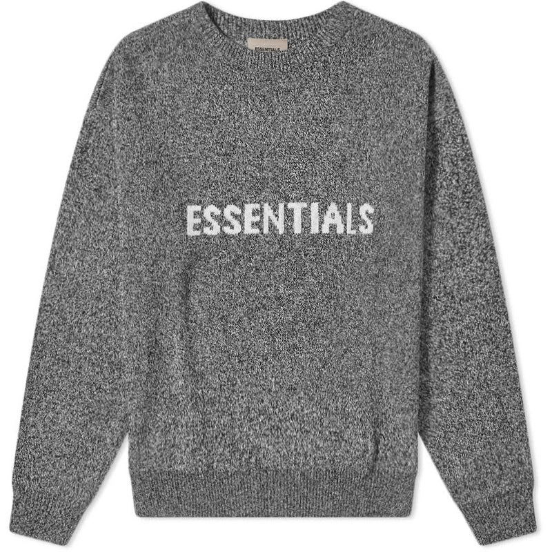 FOG - ESSENTIALS Knit Sweater (Grey Melange)