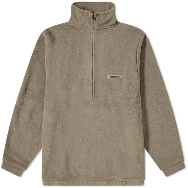 FOG - ESSENTIALS Polar Fleece Half Zip Sweater (Grey)