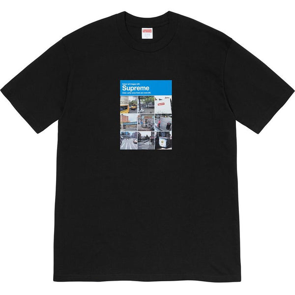 Supreme Verify Tee - Black