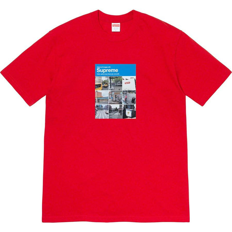 Supreme Verify Tee - Red
