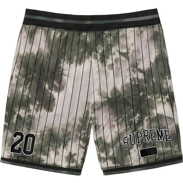 Supreme Dyed Basketball Short - Black