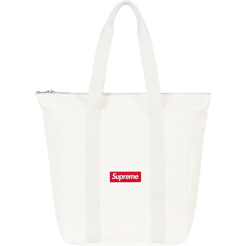 Supreme Canvas Tote - White