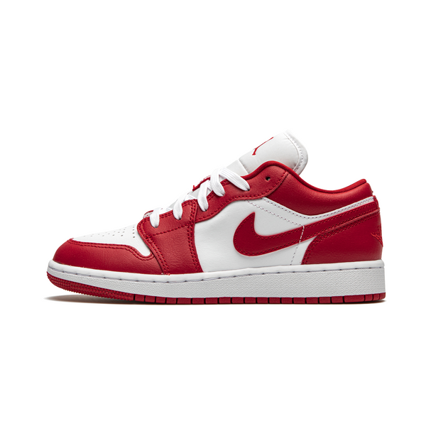 Jordan 1 Low - Gym Red Womens (GS)