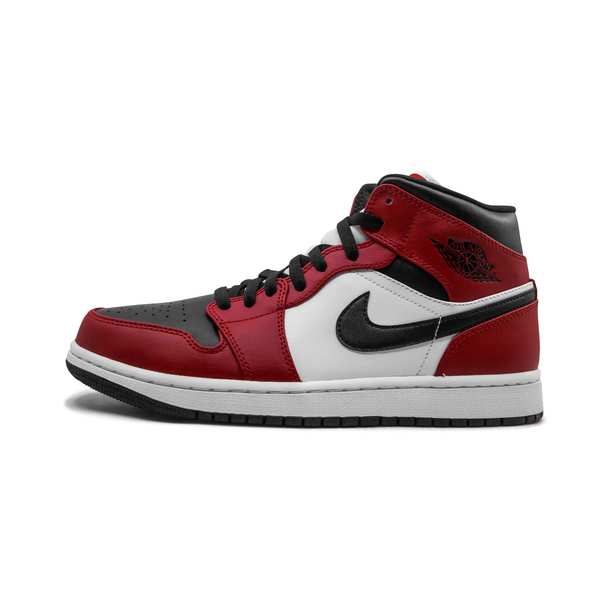 Jordan 1 MID - Chicago Black Toe