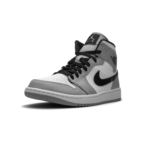 Jordan 1 Mid - Light Smoke Grey
