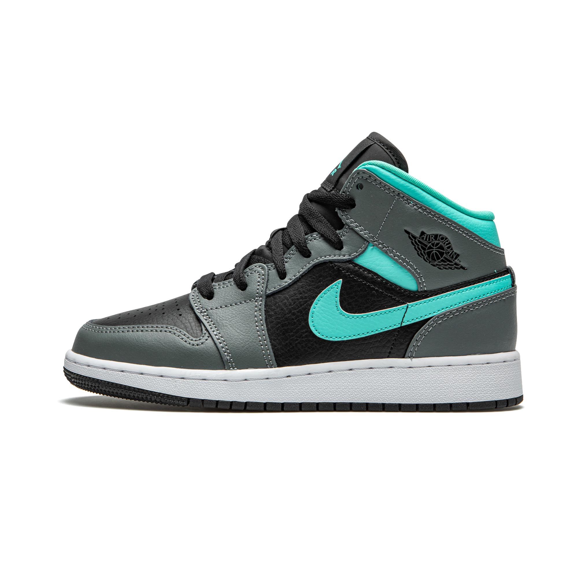 Air Jordan 1 MID - Aqua Womens (GS)