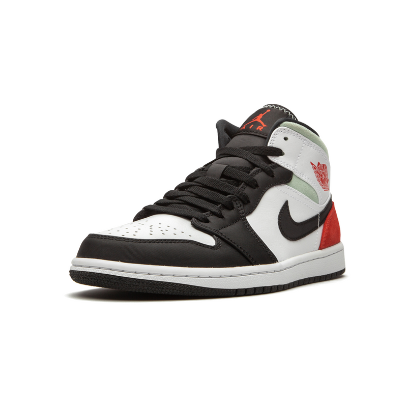 Jordan 1 MID - Red Grey Black Toe