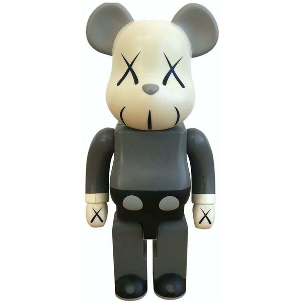 KAWS X 1000% Bearbrick (2002) - Grey