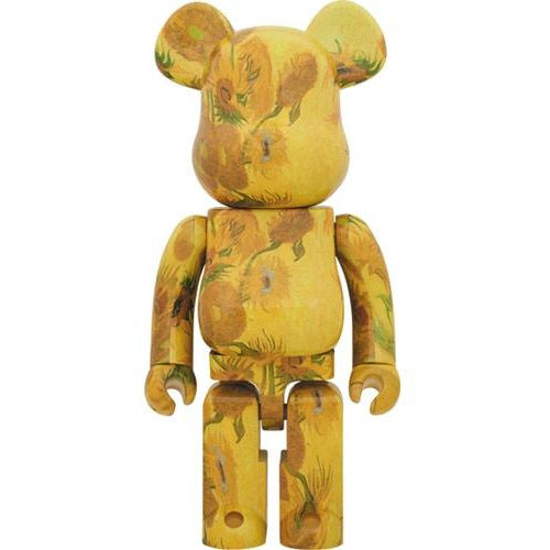 Van Gogh X 1000% Bearbrick (2019) - Sunflower