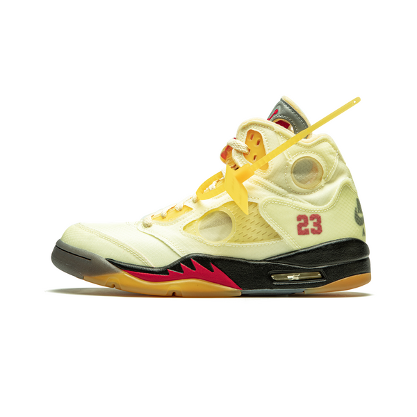 Nike X Off White Air Jordan 5 - Sail