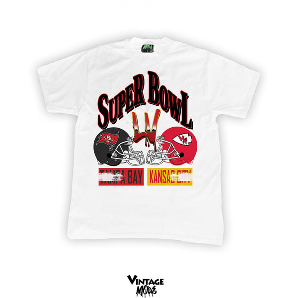 Vintage Mode - Super Bowl LV - White