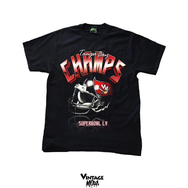 Vintage Mode - Super Bowl LV Tampa Bay Champs - Black