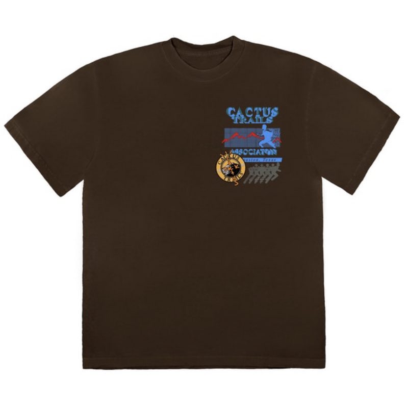Travis Scott Cactus Trails Assn T-Shirt - Brown