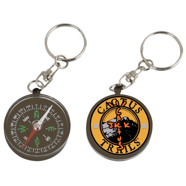 Travis Scott Cactus Trails Compass Keychain
