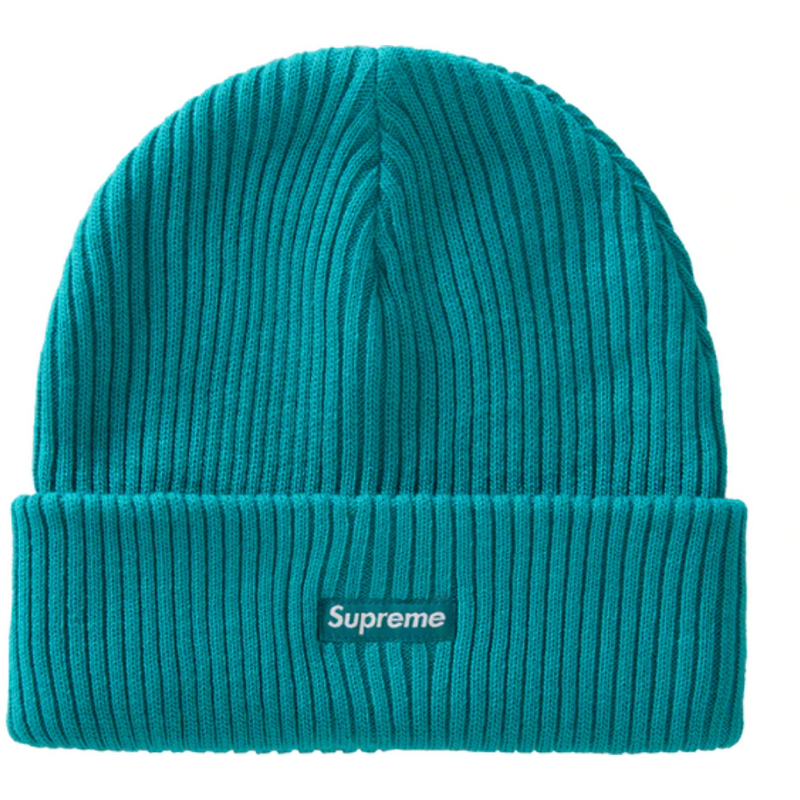 Supreme Wide Rib Beanie - Teal