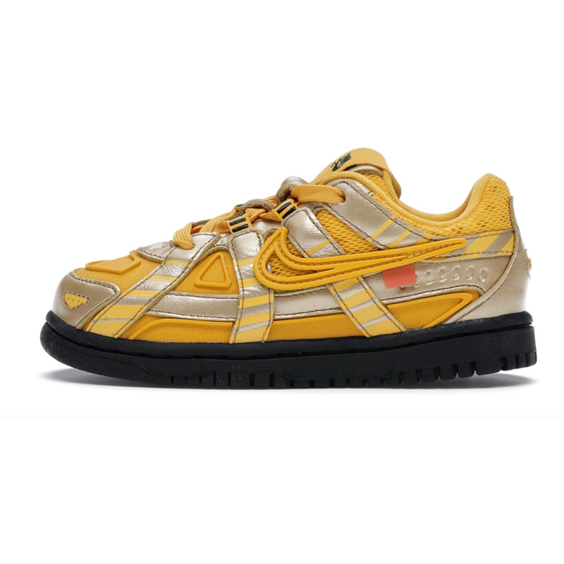 Nike Air Rubber Dunk Off-White University Gold (TD)
