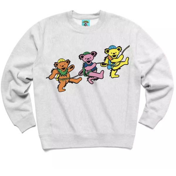 Chinatown Market x Grateful Dead Crewneck - Grey