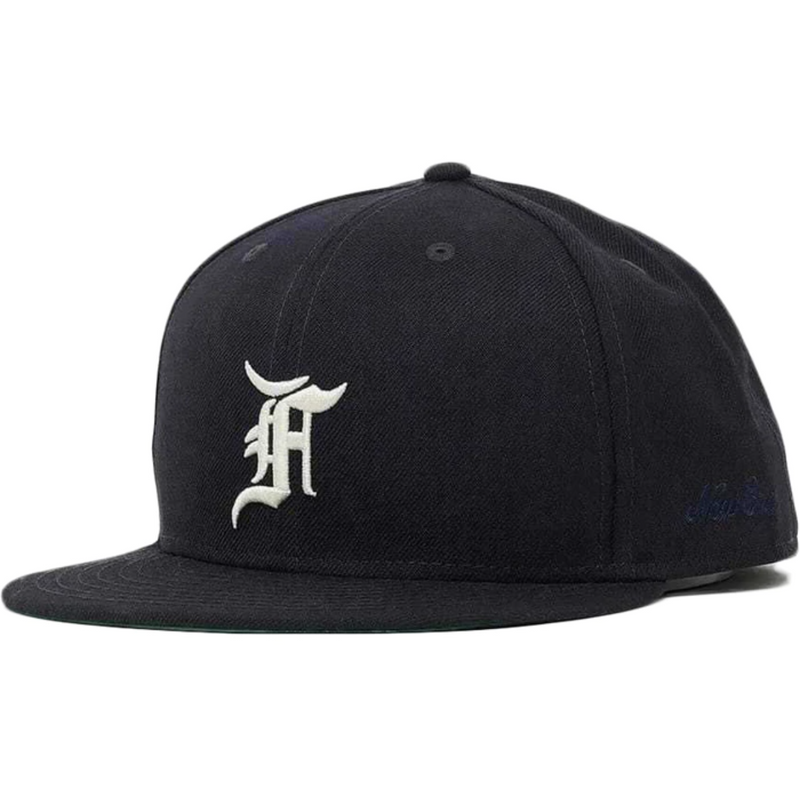 FOG - ESSENTIALS New Era Fitted Cap (Navy)