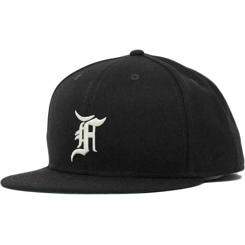 FOG - ESSENTIALS New Era Fitted Cap (Black)