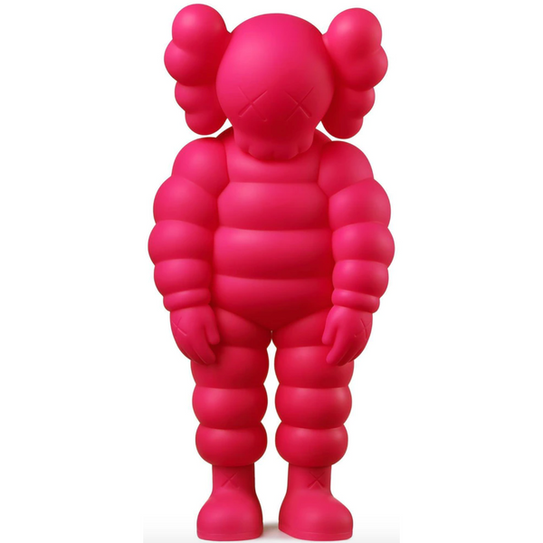 KAWS What Party Figure - Pink