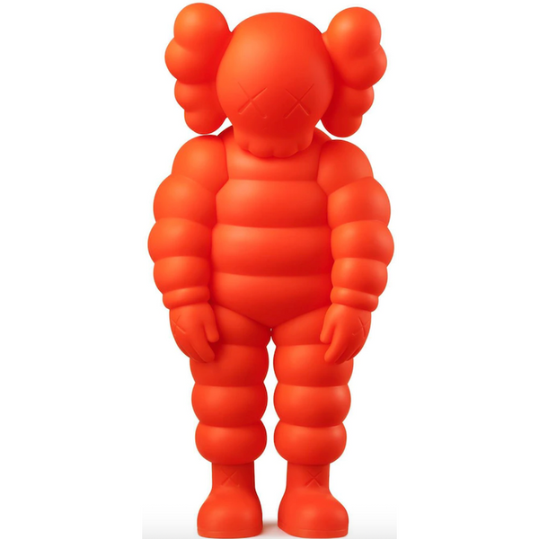 KAWS What Party Figure -  Orange