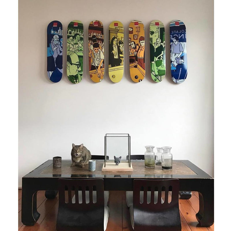 Sk8ology Single Deck Display Wall Hanger