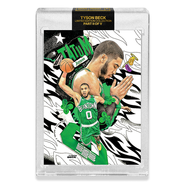 PART II OF V - OFFICIAL JAYSON TATUM X TYSON BECK - BASE CARD