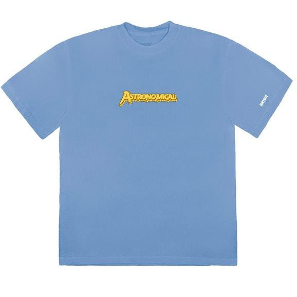 Travis Scott The Scotts Astro Goosebumps Tee Blue