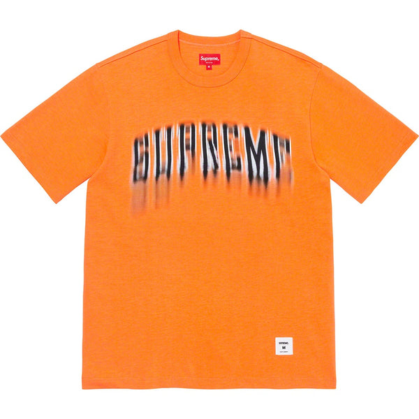 Supreme Blurred Arc Tee - Orange