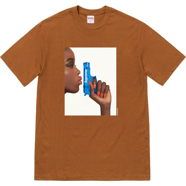 Supreme Water Pistol Tee - Brown