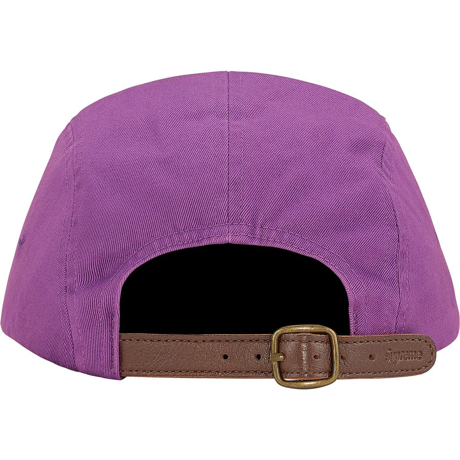 Supreme Washed Chino Twill Camp Cap - Light Purple
