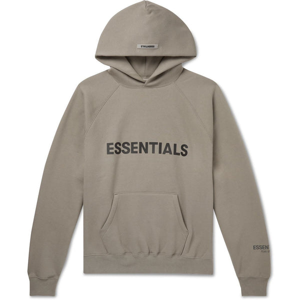 FOG - ESSENTIALS 3D Silicon Applique Pullover Hoodie (Grey)