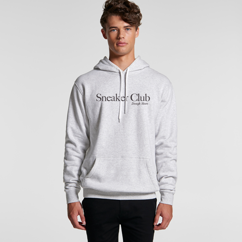 Dough Sneaker Club Hoodie - White Marle (Grey)