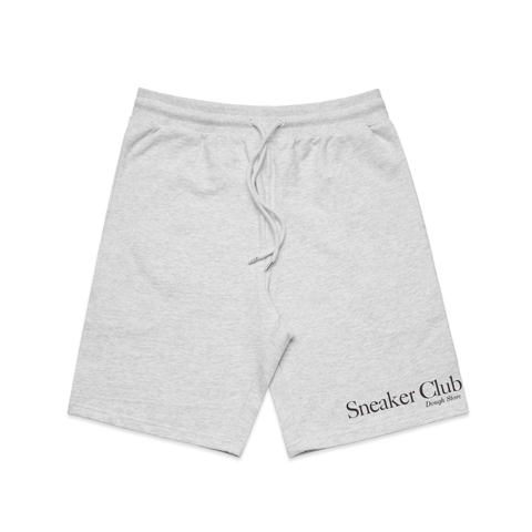 Dough Sneaker Club Stadium Shorts - White Marle (Grey)