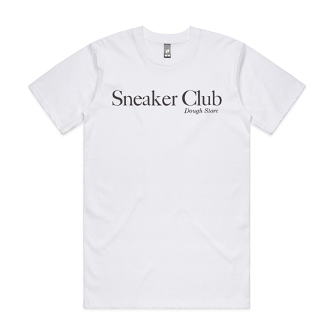 Dough Sneaker Club Tee - White