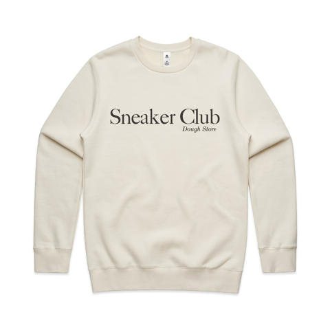 Dough Sneaker Club Crewneck - Ecru (Cream)