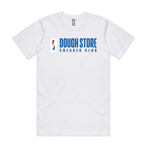 Dough Basketball Logo Tee - White