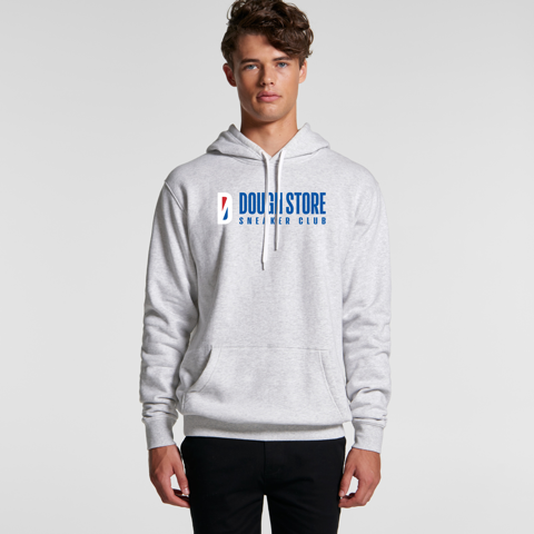 Dough Basketball Logo Hoodie - White Marle (Grey)