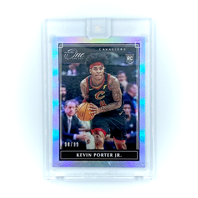 One And One Basketball -  Kevin Porter Jr.  2019-20 Cavaliers Rookie Card #98/99