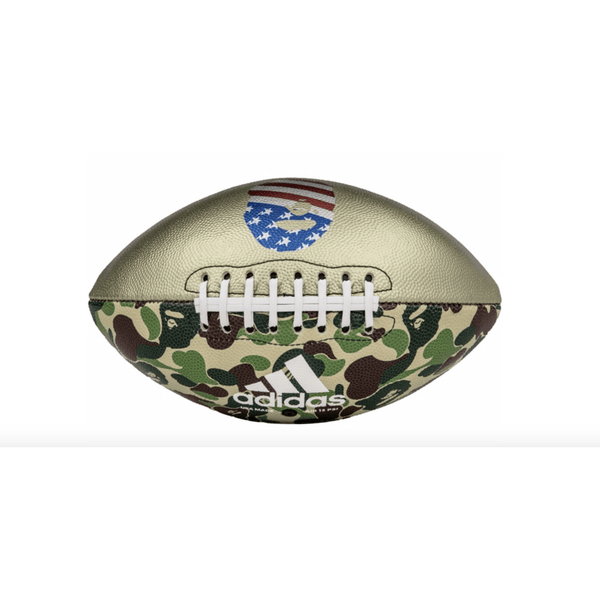 Adidas X Bape NFL Football