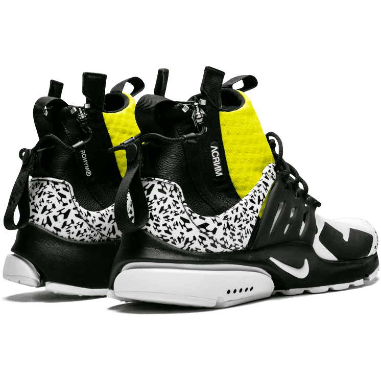 Air Presto Mid Acronym Dynamic Yellow